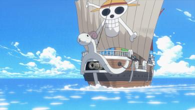 Con tàu Going Merry của băng Hải tặc Mũ Rơm trong One Piece