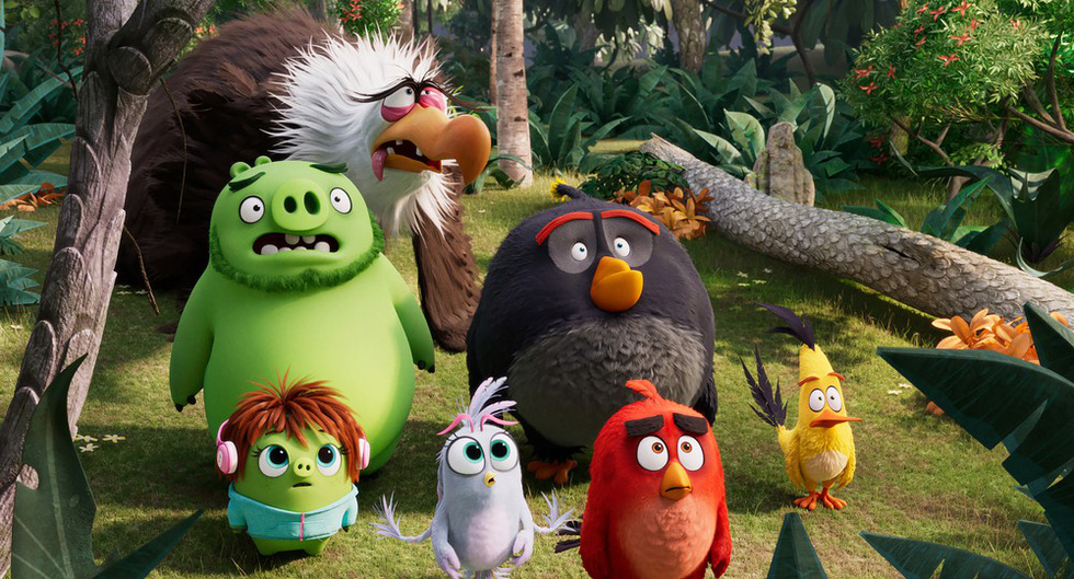 Angry birds 2 : Winter is coming.